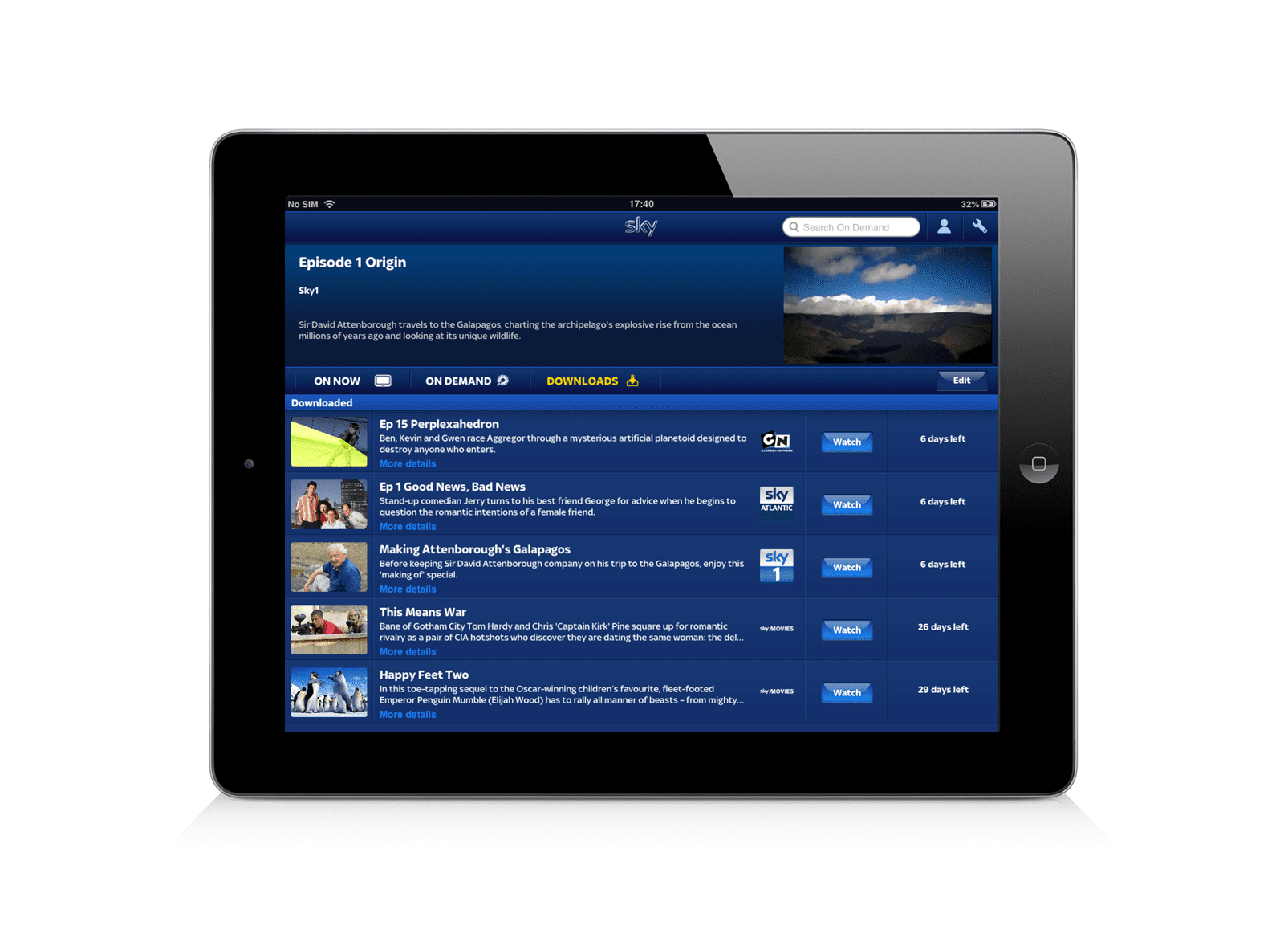 how to use sky go extra