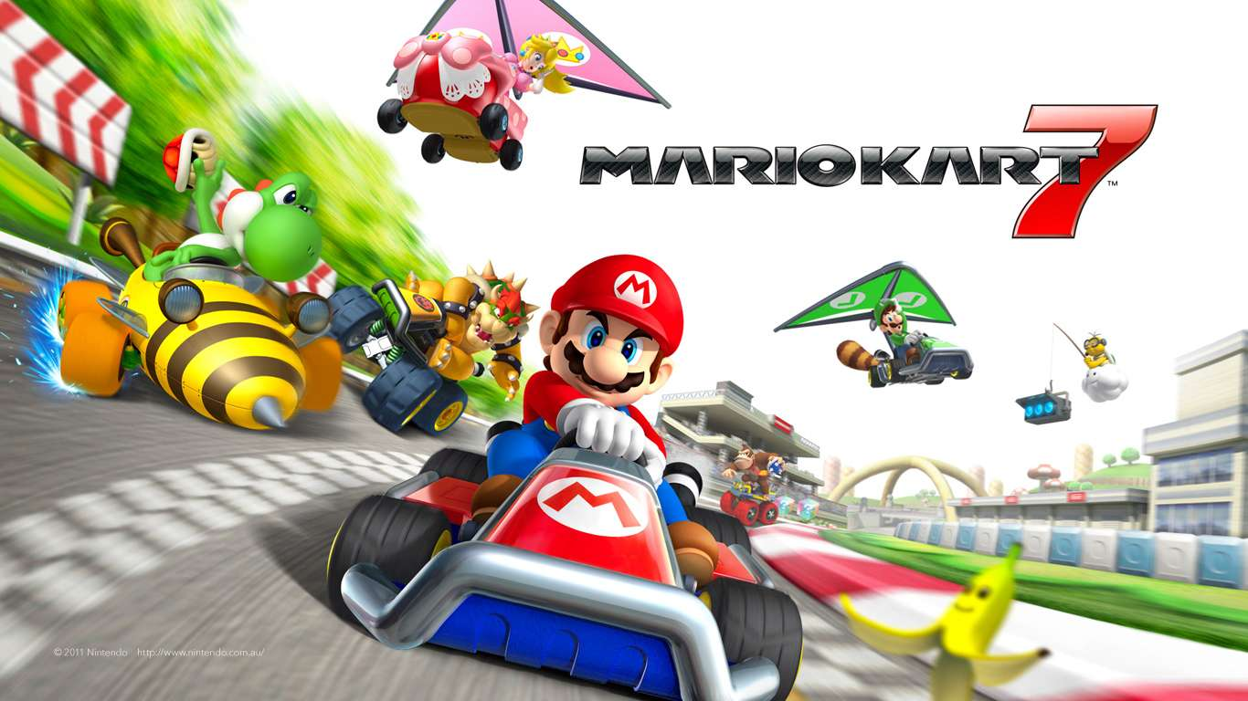 new mario kart 7 community application launched