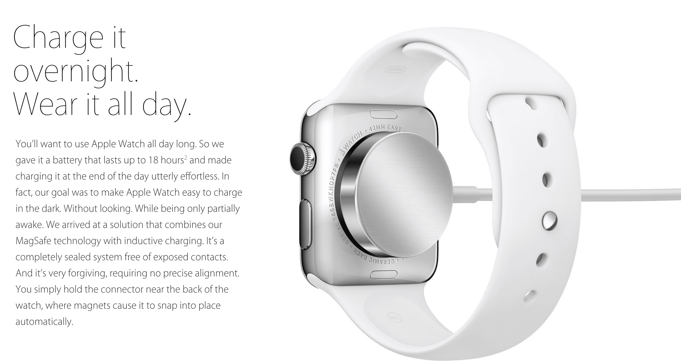 Apple Watch Charging Battery life