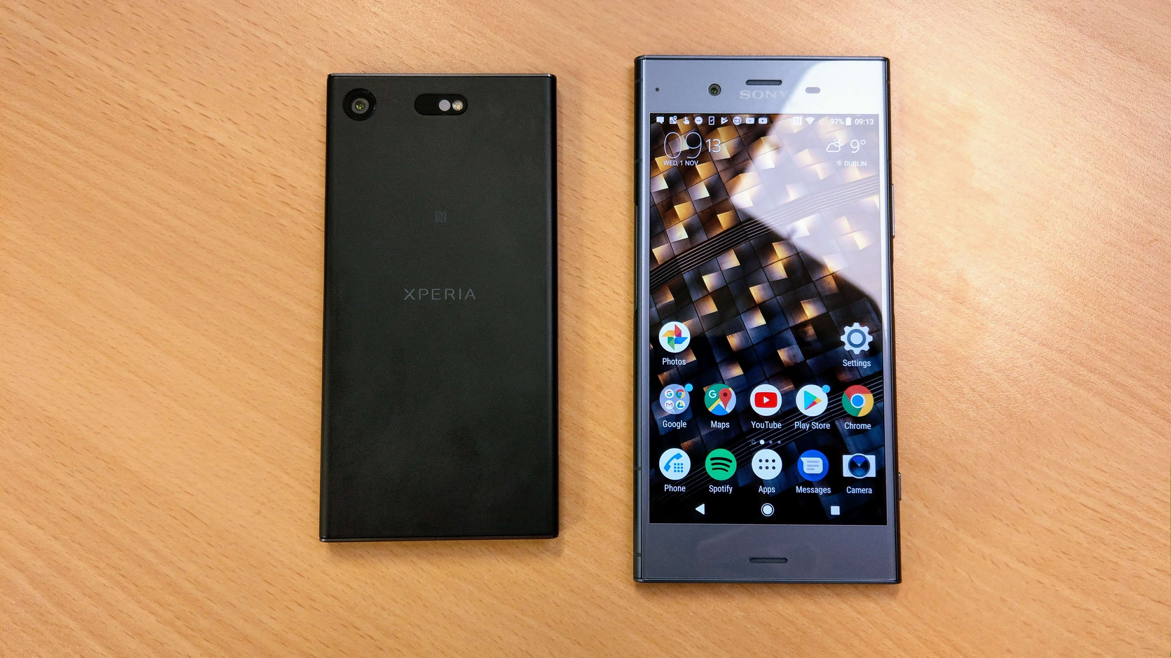 review sony xperia xz1 xz1 compact. Black Bedroom Furniture Sets. Home Design Ideas